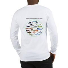 CF logo+ So. Ca. Sportfishing Targets L Sleeve T