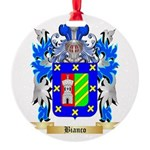 Bianco Round Ornament