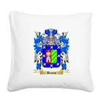 Bianco Square Canvas Pillow