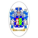 Bianchetti Sticker (Oval 50 pk)