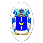 Bialkowski Sticker (Oval 50 pk)