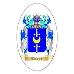 Bialczyk Sticker (Oval)