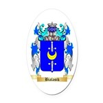 Bialasik Oval Car Magnet
