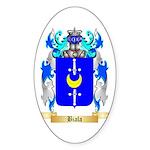 Biala Sticker (Oval 50 pk)