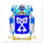 Biagioli Square Car Magnet 3