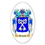 Biagioli Sticker (Oval)