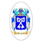 Biagioli Sticker (Oval 50 pk)