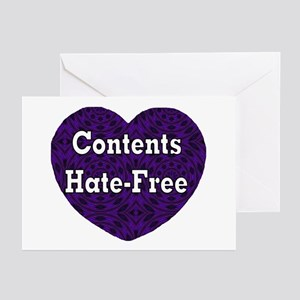 Hate-Free Greeting Cards (Pk of 10)