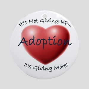 2-adoption Ornament (Round)