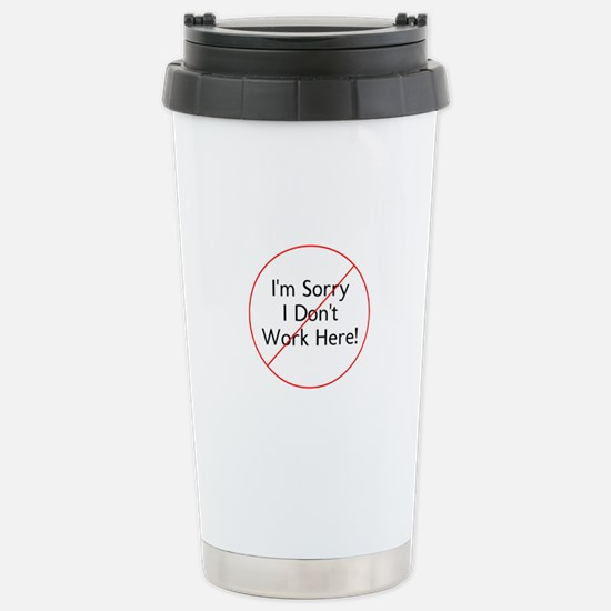 Cute Bartender dad Travel Mug