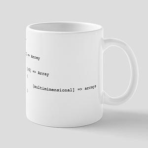 Multidimensional Arrays Mug