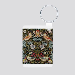 William Morris Strawberry Thief Aluminum Photo Key
