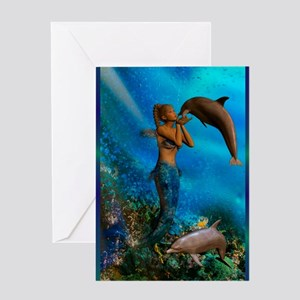 Best Seller Merrow Mermaid Greeting Card