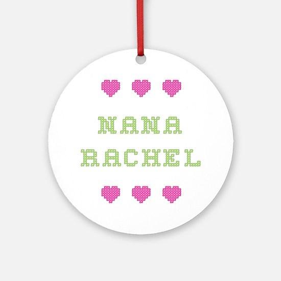 Nana Rachel Round Ornament