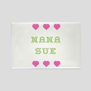 Nana Sue Rectangle Magnet