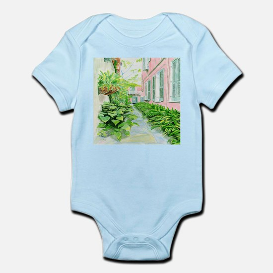 New Orleans Courtyard Body Suit