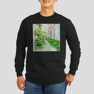 New Orleans Courtyard Long Sleeve T-Shirt