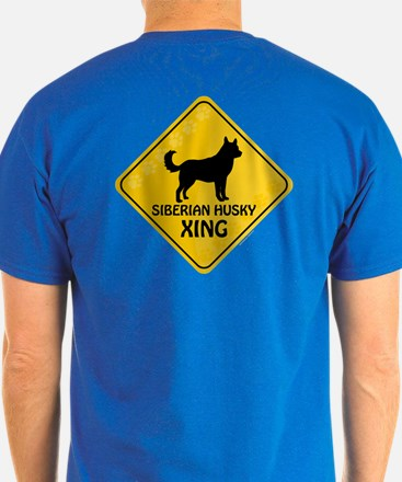 Husky Xing (2-sided) T-Shirt