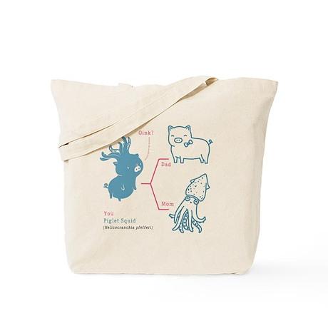 CafePress - Blue Octopus - Natural Canvas Tote Bag Cloth Shopping Bag