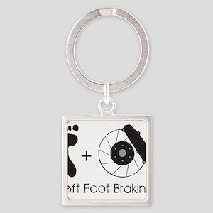 Left Foot Braking Keychains