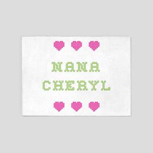 Nana Cheryl 5'x7' Area Rug