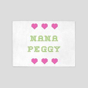 Nana Peggy 5'x7' Area Rug