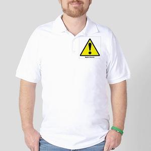 Bipolar Stomach Golf Shirt