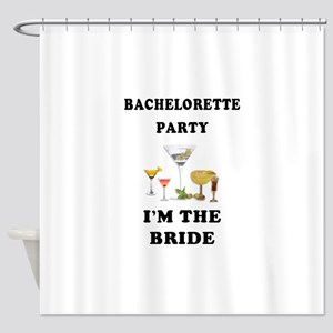 Brides Bachelorette Party Shower Curtain