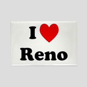 I Love Reno Rectangle Magnet