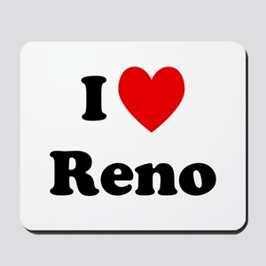I Love Reno Mousepad