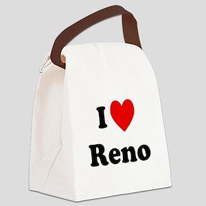 I Love Reno Canvas Lunch Bag