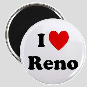 I Love Reno Magnet