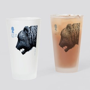 2006 England Ice Age Cave Bear Postage Stamp Drink
