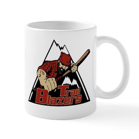 Trail Blazers Logo Mug