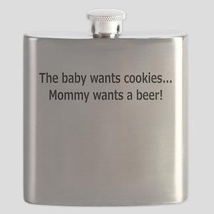 baby cookien beer Flask