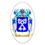 Biaggioni Sticker (Oval 50 pk)