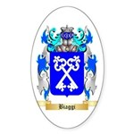 Biaggi Sticker (Oval 50 pk)