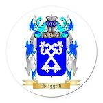 Biaggetti Round Car Magnet