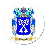 Biaggelli Round Car Magnet