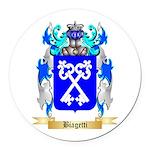 Biagetti Round Car Magnet