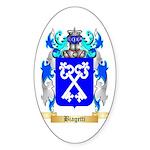 Biagetti Sticker (Oval 50 pk)