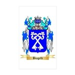 Biagelli Sticker (Rectangle 50 pk)