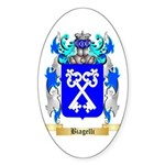 Biagelli Sticker (Oval 10 pk)