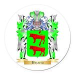 Bezarra Round Car Magnet