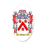 Bewer Oval Car Magnet