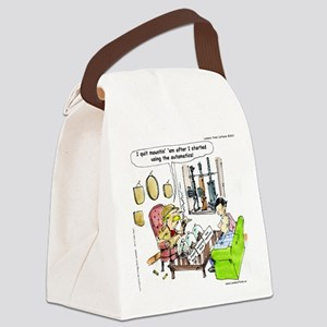 Hunting With Automatics Canvas Lunch Bag