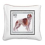 Borzoi Stamp 20 Inch Pillow