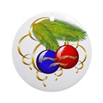 Leaping Zoi Ornament