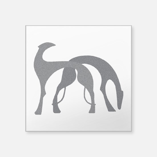 "Hounds Decal 3"" x 3"" Graphite"