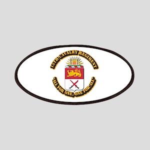 COA - 15th Cavalry Regiment Patches